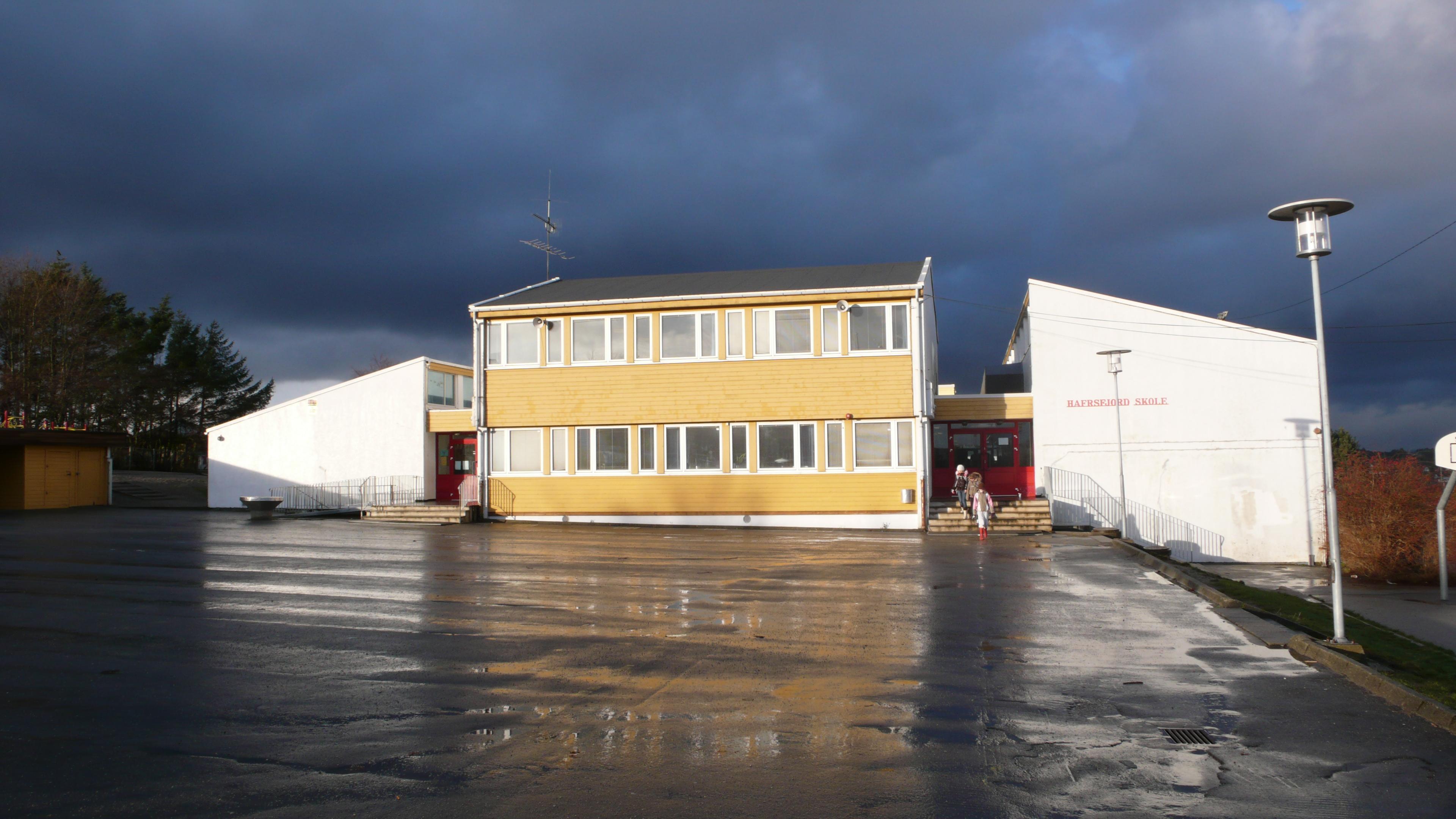 Hafrsfjord skole - FØR