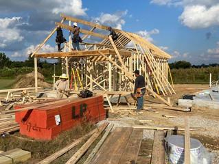 Construction Progress at Cottage Community