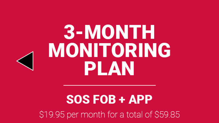 MONITORING PLAN FOR THE SOS FOB + FREE APP