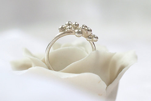 Silver Bobble Ring