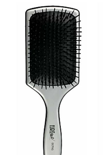 Escova para Escovar Rectangular, Prateada