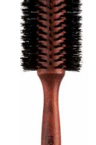 Escova Brushing em Madeira, Cerda, 30mm