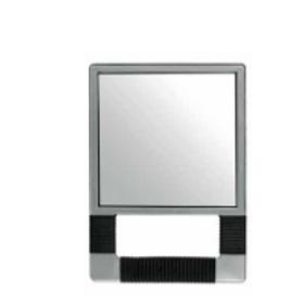 Espelho Rectangular Prateado