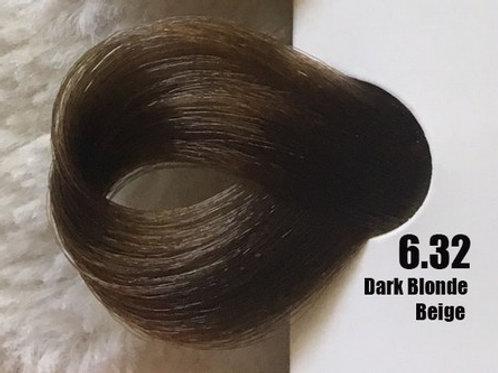 Coloração em Creme Extremo, Cor Louro Escuro Bege 6.32, 100ml