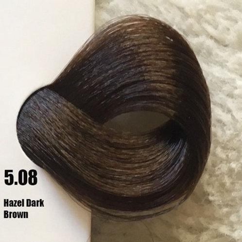 Coloração em Creme Extremo, Cor Castanho Escuro Avelã 5.08, 100ml
