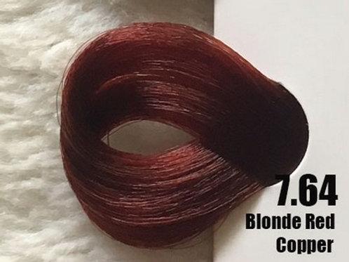 Coloração em Creme EXTREMO, Cor Louro Vermelho Acobreado 7.64,100ml