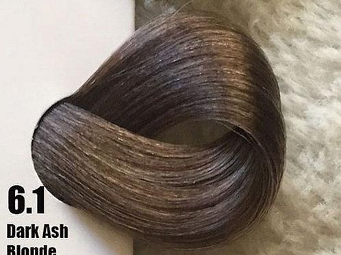 Coloração em Creme Extremo, Cor Louro Escuro Cinza 6.1, 100ml