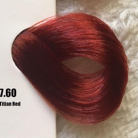 Coloração em Creme EXTREMO, Cor Vermelho Ticiano 7.60, 100ml