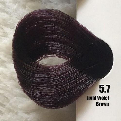 Coloração em Creme EXTREMO, Cor Castanho Claro Violeta, 5.7, 100 ml