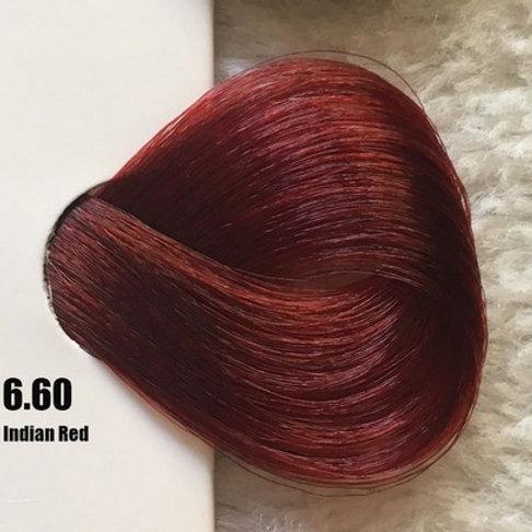 Coloração em Creme EXTREMO, Cor Vermelho Indiano 6.60, 100ml