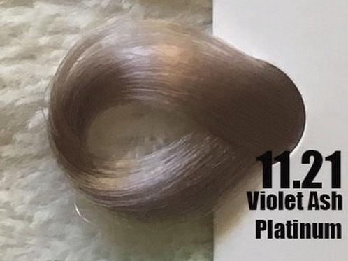 Coloração em Creme Extremo, Cor Louro Platinado Cinza Irisado 11.21, 100ml