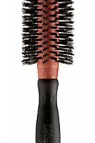 Escova Brushing, Pelo de Javali, Cabo Plástico, 24mm