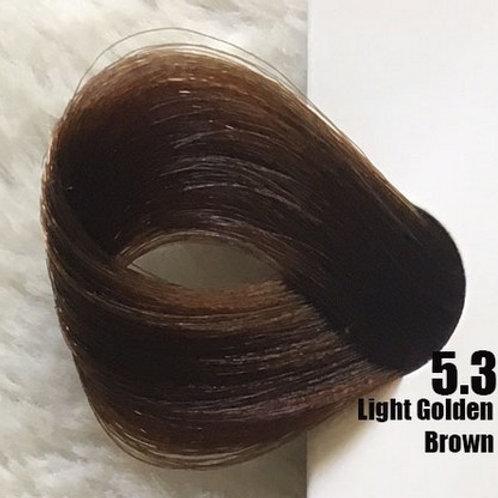 Coloração em Creme EXTREMO, Cor Castanho Claro Dourado 5.3, 100ml