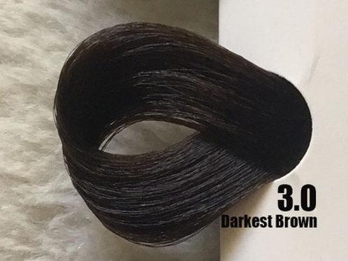 Coloração em Creme EXTREMO, Cor Castanho Escuro 3.0, 100ml