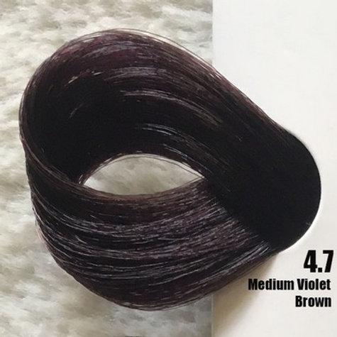 Coloração em Creme EXTREMO, Cor Castanho Violeta Médio, 4.7, 100 ml