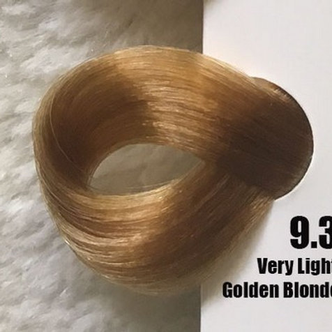 Coloração em Creme EXTREMO, Cor Louro Claríssimo Dourado 9.3, 100ml