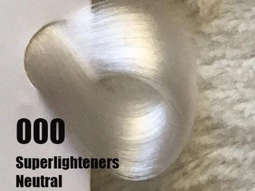 Coloração em Creme Extremo, Cor Super Aclarante Neutro 000, 100ml