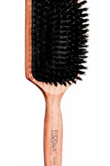 Escova para Escovar em Madeira Rectangular, Pelo de Javali