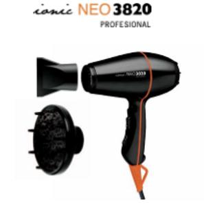 Secador de Mão Profissional Neo 3820 com Difusor