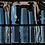 Thumbnail: Estojo Profissional com 9 Pentes, Várias Cores