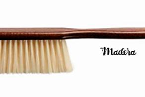 Pente de Barbeiro com Cabo em Madeira