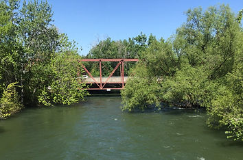 Boise River Downtown Boie