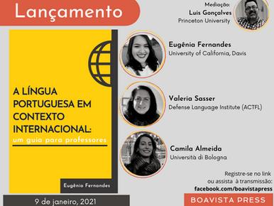 Lançamento: A língua portuguesa em contexto internacional: um guia para professores