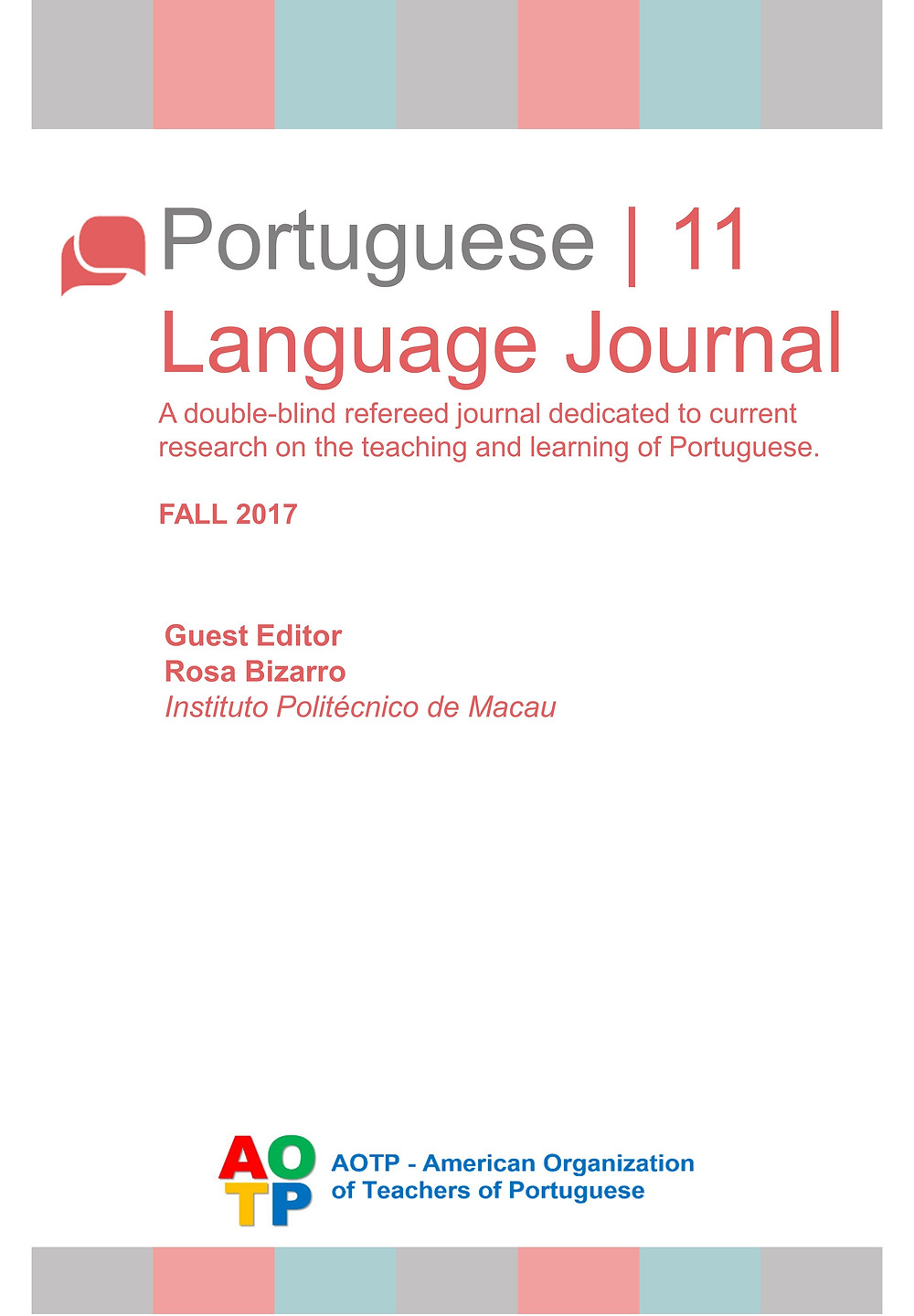 Portuguese Language Journal #11