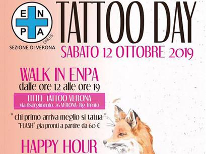 ENPA TATTOO DAY - TATTOO WALK IN + APERITIVO!