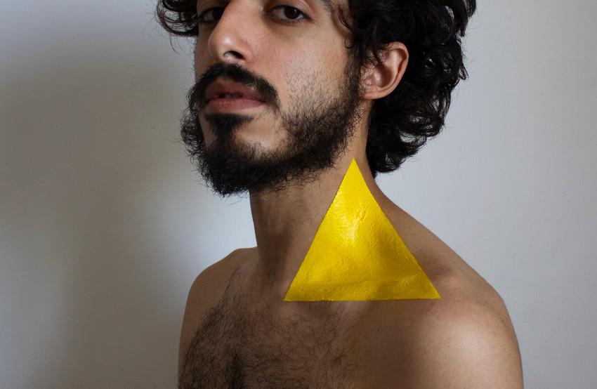 Ritratto dalla serie Pitture geometriche