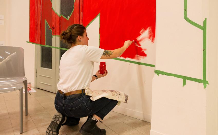 Ti amo ti odio / work in progress © Anna Dormio
