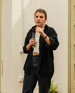 Anna Dormio, presentazione di 50100 presso Manifattura Tabacchi, Firenze