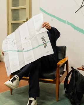 Presentazione di 50100 presso Manifattura Tabacchi, Firenze