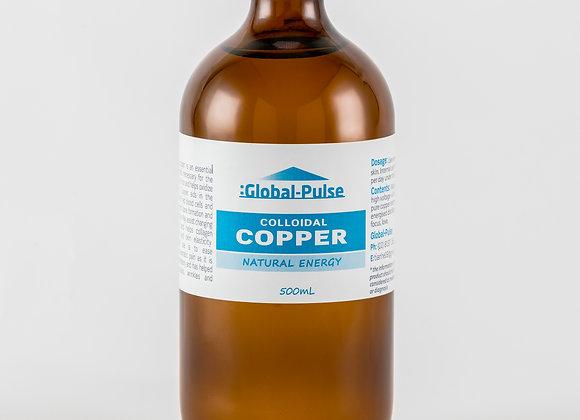 Colloidal Platinum Blue Label Bottle