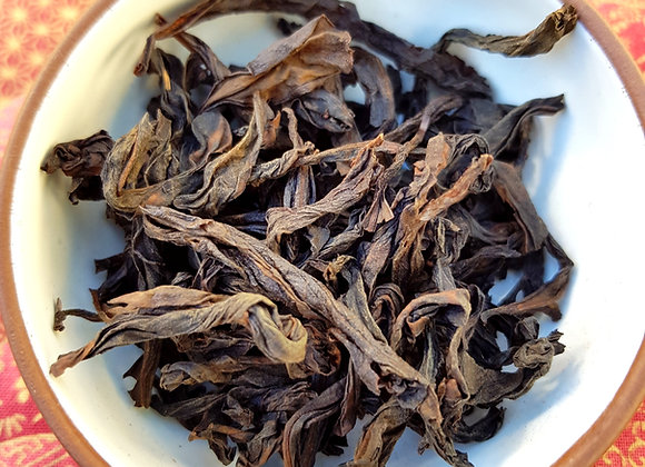 Da Hong Pau Bowl Dried Leaves