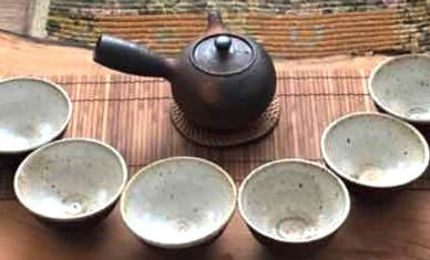 Tea Ceremony Pot and Cups