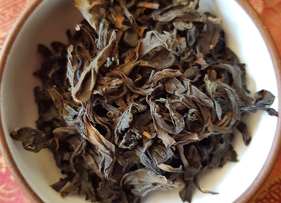 Iron Warrior Monk Dried Tea Leaves