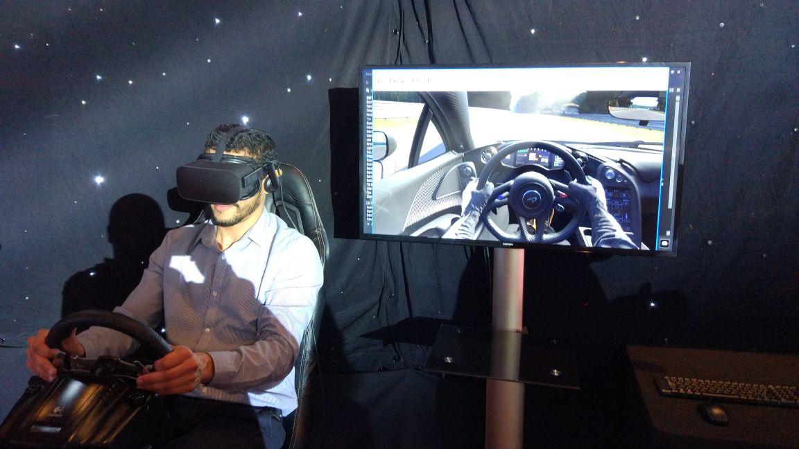 Realidad Virtual Simulador de conduc