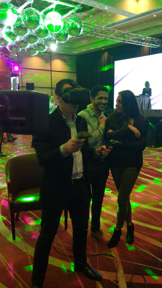 Evento siemens Realidad Virtual