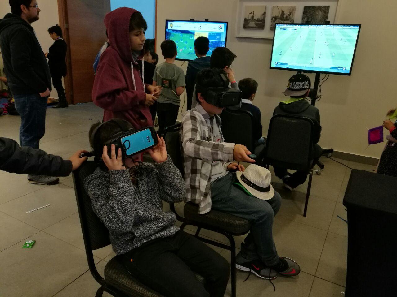 Fiesta empresa realidad virtual