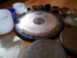 A Circle of Gongs and bowls