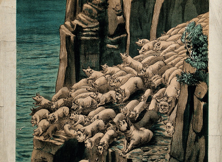 Bible Bash: Demons, Pigs, and Privilege -- Mark 5