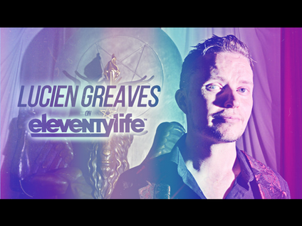EleventyLife Episode #106 - Baphomet, Books & Bandmates w/Lucien Greaves of TST