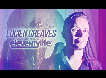 EleventyLife Episode #106 - Baphomet, Books & Bandmates w/Lucien Greaves of TST