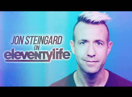 Eleventylife Episode #112 - Apostasy & Power Chords w/ Jon Steingard of Hawk Nelson (Part 1)