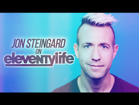 Eleventylife Episode #113 - Apostasy & Power Chords w/ Jon Steingard of Hawk Nelson (Part 2)