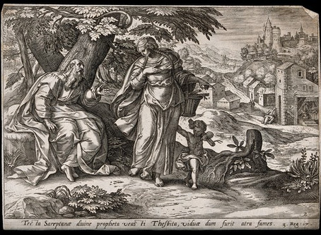Bible Bash: Marginalized and Hungry. Elijah, a widow and a pinch of flour -- 1 Kings 17