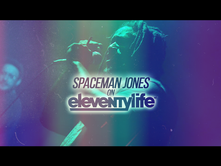 Eleventylife Episode #116 - Universal Stories, Self Talk & Tarot w/Spaceman Jones