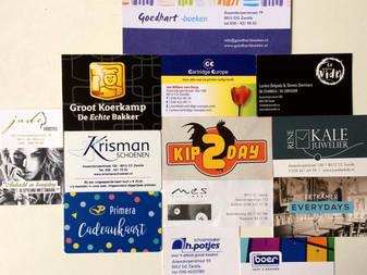 Nog meer donatie bussen in Assendorp!