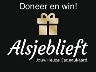 Doneer en win een cadeaukaart!